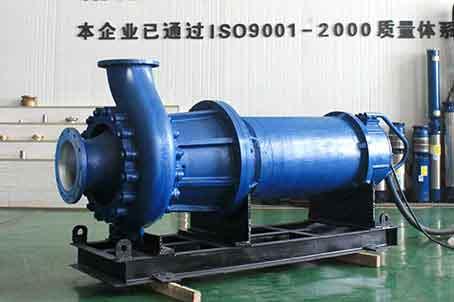 潜水螺旋离心泵提升了我们业务能力