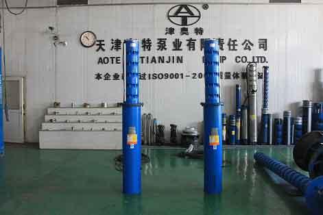 QK型矿用潜水电泵